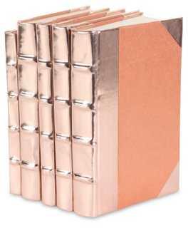 S/5 Metallic Patent Leather - One Kings Lane