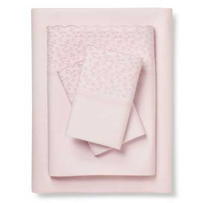 Simply Shabby Chic® Queen Sheet Set - Pink - Target