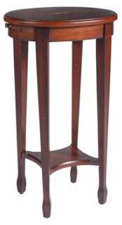 Browning Oval Side Table - One Kings Lane