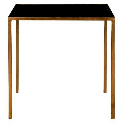 Safavieh Kiley Accent Table - Gold/Black - Target