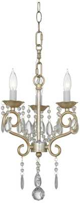 "Conti Champagne Gold 12"" Wide Chandelier - Lamps Plus"