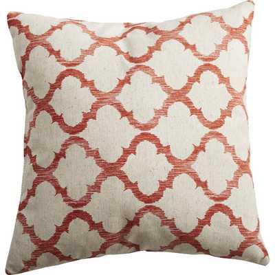 "Linen Throw Pillow - Mango -17""x17"" - Polyester/Poly fill - AllModern"