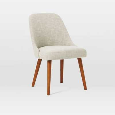 Mid-Century Upholstered Dining Chair - West Elm