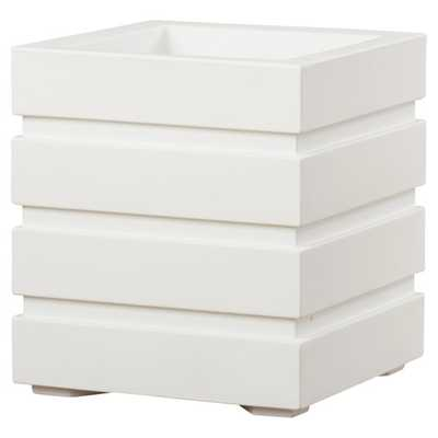 Freeport Square Planter Box - White - AllModern