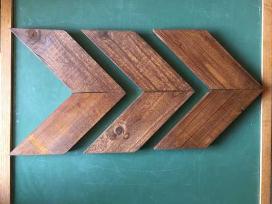 Smaller Size - Wood Arrow Wall Art Chevron Home Decor - Etsy