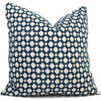 Indigo Decorative Pillow Cover - Etsy