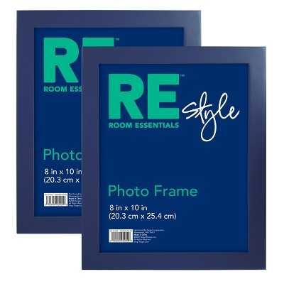"""Room Essentialsâ""""¢ Flat Top Frame 2 Pack - Target"""