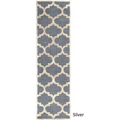 Artistic Weavers Hand-Tufted Tetbury Trellis Wool Rug (2'3 x 8') - Overstock