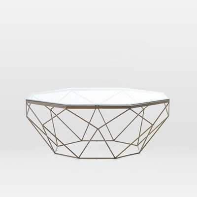 Geometric Coffee Table - West Elm