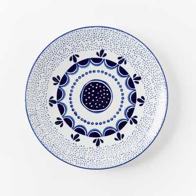 Collector's Editions Plates - Navy Speckled - West Elm