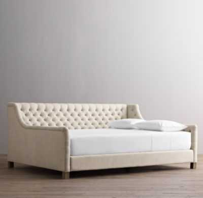 Devyn tufted upholstered daybed - RH Baby & Child
