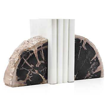 Petrified Wood Bookends - Z Gallerie