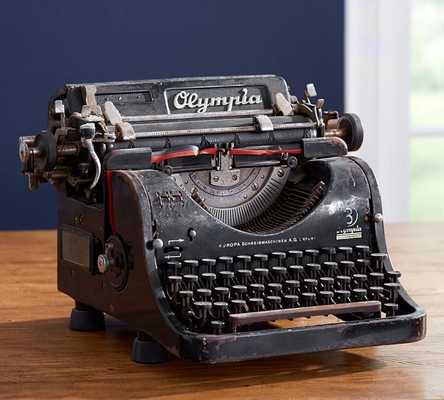 PB Found Vintage Typewriter - Pottery Barn