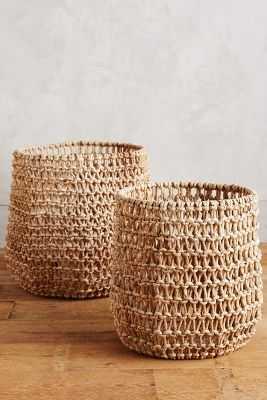 Tillage Baskets -Set of 2 - Anthropologie