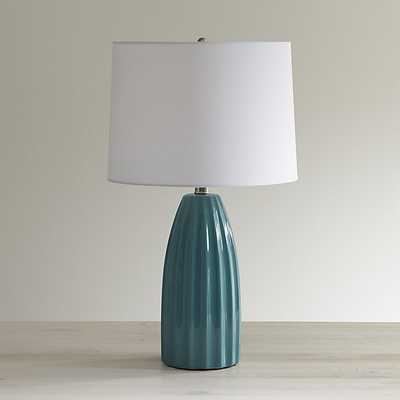 Ella Golden Yellow Table Lamp - Crate and Barrel