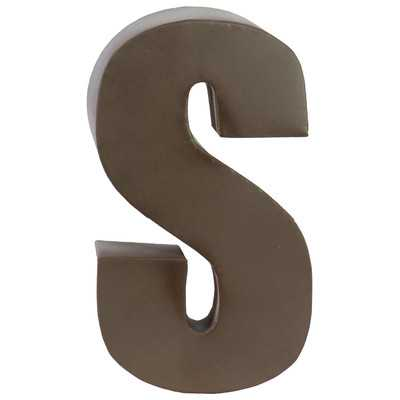 Metal Letter - S - Wayfair