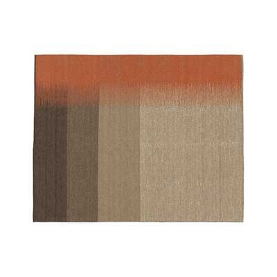 Sanderson Wool Dhurrie 8'x10' Rug - Crate and Barrel