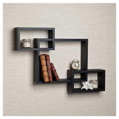 Carla Intersecting Wall Shelf - Wayfair