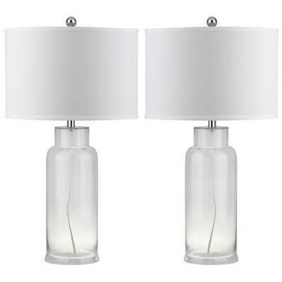 "Bottle 29"" H Table Lamp (Set of 2) - Wayfair"
