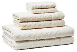 6-Pc Uptown Towel Set - One Kings Lane