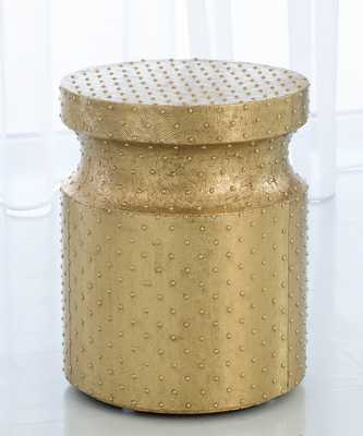 Circo Accent Table - Brass - Bliss Home and Design