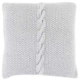 Genevieve Knit Pillow - One Kings Lane
