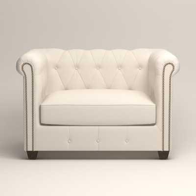 Hawthorn Chair - Griffin Cream Twill - Birch Lane