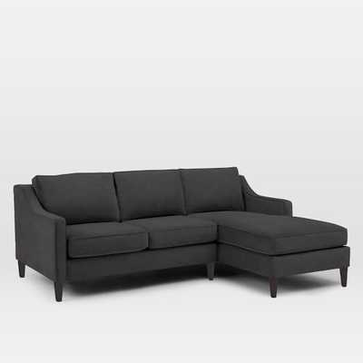 Paidge 2-Piece Chaise Sectional - Right Chaise - West Elm