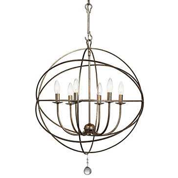 "Six-arm Chandelier 22""D - Z Gallerie"