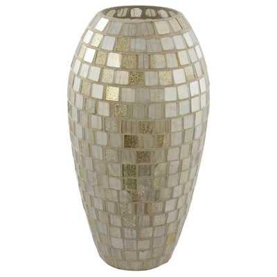 Mosaic Tall Decorative Vase - Overstock