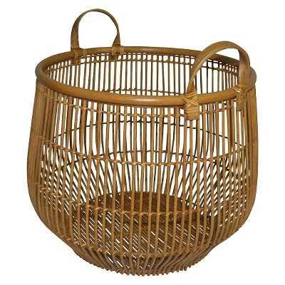 "Linear Weave Bulging Basket - Thresholdâ""¢ - Target"