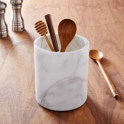 Marble Kitchen Utensil Holder - West Elm