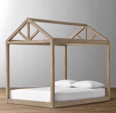 cole framed house bed - twin - RH Baby & Child