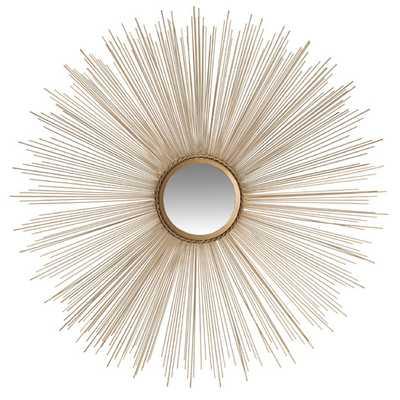 Axton Sunburst Mirror  - Gold - AllModern
