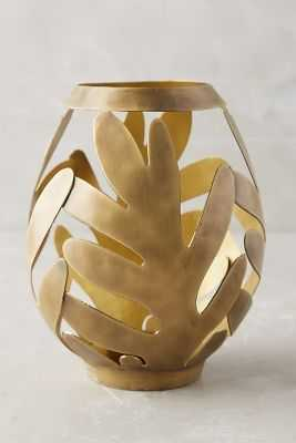 Wreathed Hurricane Votive - Large - Anthropologie