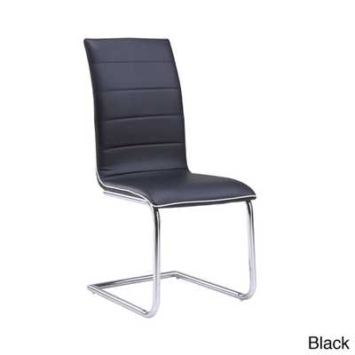 High Back PU Dining Chair - Overstock