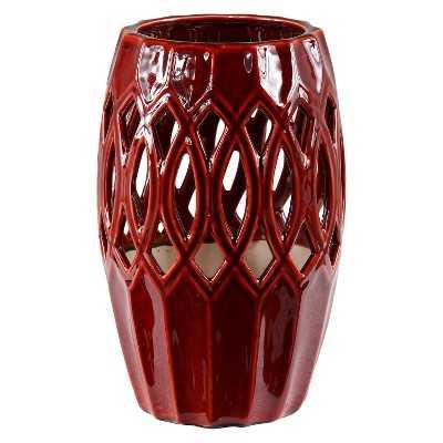 "10"" Pierced Vase - Target"