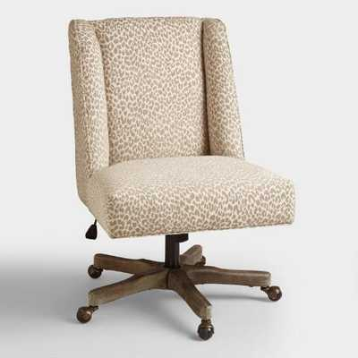 Mali Ava Upholstered Office Chair - World Market/Cost Plus