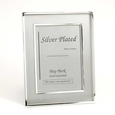 """Silver Plated Picture Frame 4"""" x 6"""" - AllModern"""