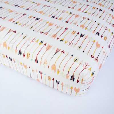 Arrow Crib Sheet - Aztec Crib Sheets - Etsy