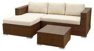 Markua Outdoor Sectional & Table Set - One Kings Lane
