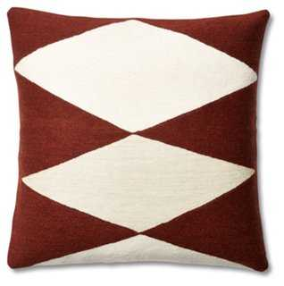 Ace Wool Pillow - One Kings Lane
