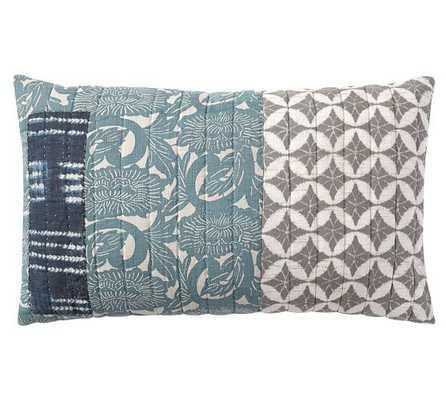 Malibu Patchwork Pillow Covers - Pottery Barn