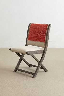 Kantha Terai Folding Chair - Anthropologie