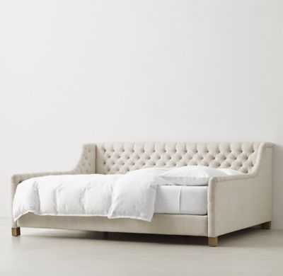 DEVYN TUFTED DAYBED - RH Teen