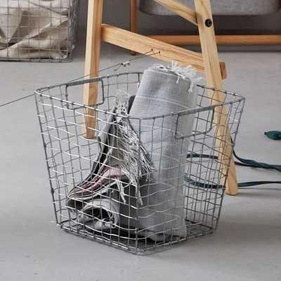 Wire Mesh Storage -Storage Basket - West Elm