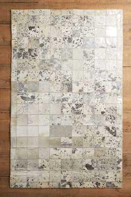 Metallic Patchwork Hide Rug - Anthropologie