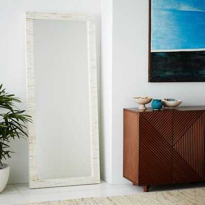 Parsons Oversized Floor Mirror - West Elm