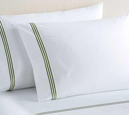 Grand Embroidered 280-Thread SHEET SET - Pottery Barn