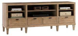 "Spanish Bay 73"" Media Console - One Kings Lane"
